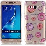 Samsung Galaxy J7 (2016) Funda, LOOCOO TPU Funda de Silicona de Gel Carcasa Tapa Case Cover para Samsung Galaxy J7 (2016) SM-J710, XS20