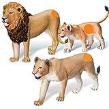 Ravensburger tiptoi® 3-teiliges Set Spielfiguren Löwen-Familie Löwe Löwin Löwenbaby