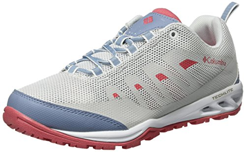 Columbia Vapor Vent, Chaussures Multisport Outdoor Femme Ivoire (White, Wild Salmon 100)