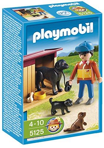 Playmobil - Granja Perros con Cuidador 5125