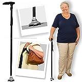 Magic Cane - Smart Easy Walking Stick Adjustable - Lightweight Aluminium Folding Walking Cane