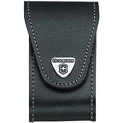 Victorinox 4.0521.XL Couteau Swisschamp Etui Cuir Noir