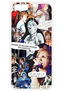 Ed Sheeran Collage Print Iphone 6s Case,Case-Unique Protective Cover Skin for Iphone 6 TPU White