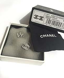 Chanel Classic Mini CC Boucles d'oreilles à tige Logo cristal