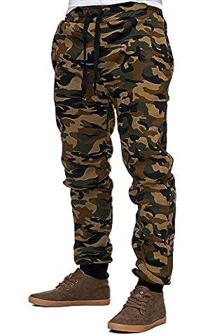 Reslad Herren Jogginghose Sweatpants RS-5060 (2XL,