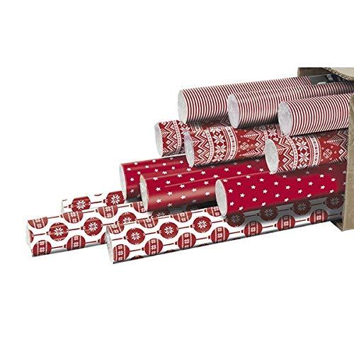 Clairefontaine 211408AMZC - Lote de 12 rollos de regalo
