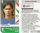 Panini WM 2006 Sondersticker Filippo Inzaghi Italien