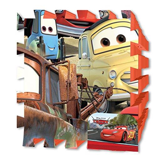 Brigamo DC8355 – Disney Cars Puzzle Matte, Schaumstoff Puzzle, Spielteppich, Spielmatte Puzzle - 2