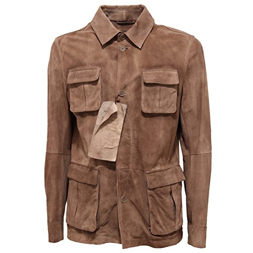 7a12e90a4620 78680 giacca GMS-75 PELLE giacche capo spalla uomo jacket men [M]