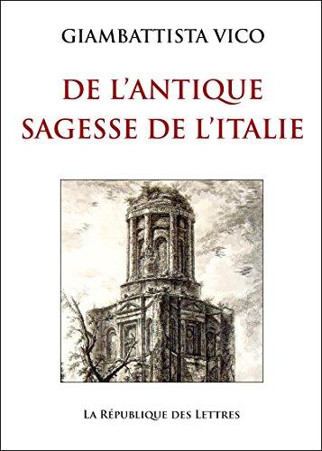 L'Antique Sagesse de l'Italie