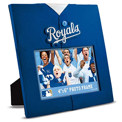 MasterPieces MLB Kansas City Royals Uniform-Rahmen, 10 x 15 cm Kansas City Royals-uniformen
