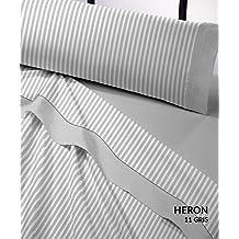 Juego sábanas franela HERON Catotex. Cama de 105 cm. Color Gris