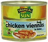 Tropical Sun Chicken Vienna Sausages 200g (Pack of 12)