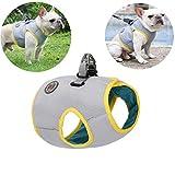 Tineer Haustierkühlgeschirr Summer Mesh Walking Dog Cool Vest Harness Einstellbar für kleine/mittlere/große Hunde Laufen im Innen- oder Außenbereich, Gehen, Bergsteigen (XXL)