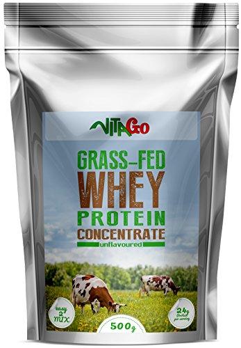 Molkenprotein-isolat (Vita-Go Grass-Fed Whey Protein Powder, 100% reines Molkeprotein von Weidetieren)