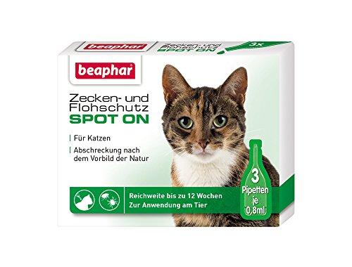Beaphar Zecken- und Flohschutz Spot-On 3 x 0.8 ml