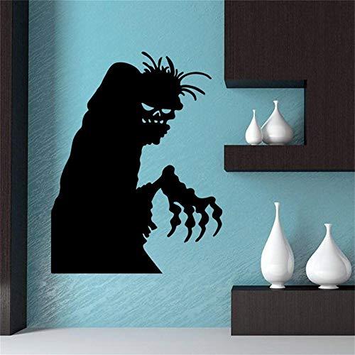 ko Für Room Art 58 * 45 Cm Happy Halloween Home Haushaltszimmer Wandaufkleber Wandbild Decor Aufkleber Removable ()