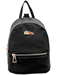 LuckES mochila bandolera señoras/las mujeres de doble bolsa de viaje de la universidad del viento de la moda para…