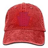 US 28th Infantry Division Symbol Unisex Sport Adjustable Structured Baseball Cowboy Hat ABCDE08954