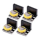 Akozon Real Time Clock DS3231 High Precision Präzision Echtzeituhr Modul RTC Clock Modul Speichermodul für Arduino Raspberry Pi 4 Teile/satz