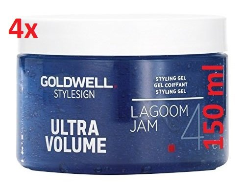 4x Goldwell Sign Lagoom Jam Volume Gel 150 ml