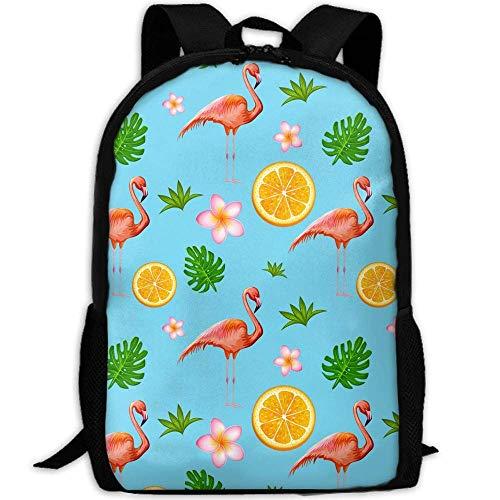 Tropical Flower Lemmon Laptop Backpack School Backpack Bookbags College Bags Daypack ()