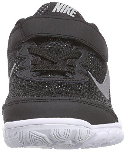 Nike Flex Experience Unisex-Kinder Hallenschuhe Schwarz (Blk/Mtlc Drk Gry-Anthrct-White 001)