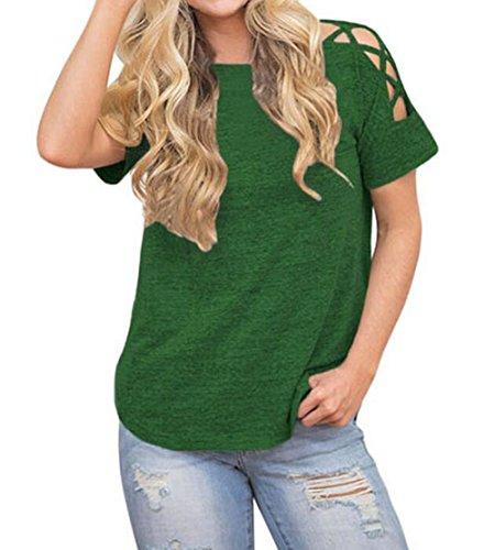 VLUNT - T-shirt de sport - Femme green