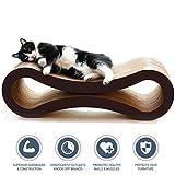 PetFusion Ultimate Cat Scratcher Lounge (86x27x27 CM). [Superior Cardboard & Construction]. Beware cheaper copycats