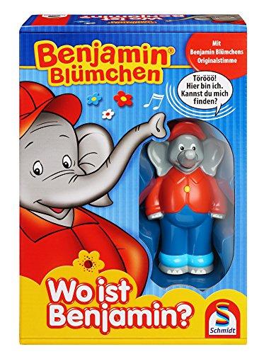 Schmidt Spiele 40580 BenjamIn Blümchen, Wo ist Benjamin, Elektronische Spiel