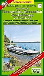 Radwander- und Wanderkarte Schorfheide, Eberswalde, Biesenthal, Werbellinsee und Umgebung: Ausflüge im Biosphärenreservat Schorfheide-Chorin zwischen ... und Liebenwalde. 1:50000 (Schöne Heimat)