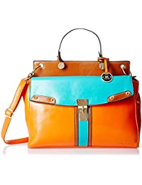 Diana Korr Women's Handbag (Orange) (DK17)