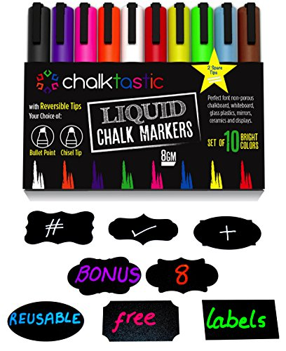chalktastic-liquid-chalk-markers-10-pack-of-professional-quality-pens-with-bright-neon-colours-bonus