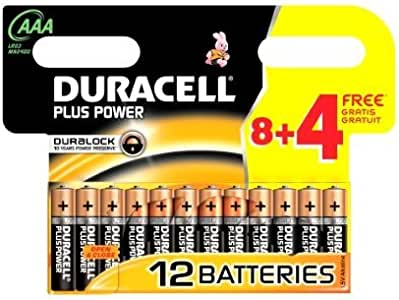 2 X Duracell Batterie Plus Power Micro Aaa 8er 4 Gratis Sonderpack