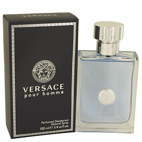 Versace Pour Homme Perfumed Deodorant Natural Spray 100ml