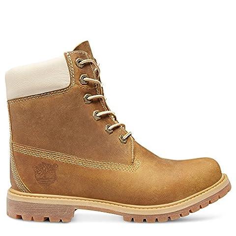 8229A|Timberland 6-Inch Premium Boot Wedge Golden Beige|39,5
