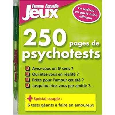 250 PAGES PSYCHOTESTS + CADEAU