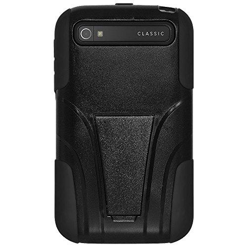 Amzer Doppellagige Hybrid-Schutzhülle mit zwei Schichten und Ständer für BlackBerry Classic-Hocker billig
