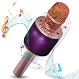 Bluetooth Karaoke Microphone - Wireless Karaoke Mic - Pairable For Duets With Multi