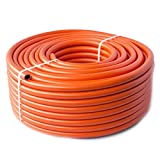 2m - Propane Butane LPG Gas hose pipe for Camping Caravan BBQ - High pressure - 8 mm