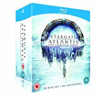 Stargate Atlantis - Complete Season 1-5 [Blu-ray] [Region Free] (B005EPD93G) | Amazon price tracker / tracking, Amazon price history charts, Amazon price watches, Amazon price drop alerts