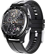 Phipuds Smartwatch Uomo Donna, 1.28'' Full Touch Orologio Fitness Activity Tracker, Chiamate Bluetooth