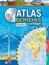 Atlas Bordas collège (1CD audio)