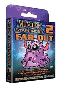 Steve Jackson Games SJG04472 Munchkin Starfinder - Localizador de 2 vías (edición en inglés), Multicolor