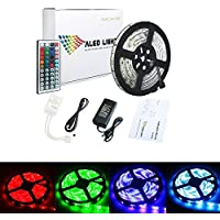 ALED LIGHT - Striscia LED Impermeabile, 5050 SMD 300 LED RGB, 5m