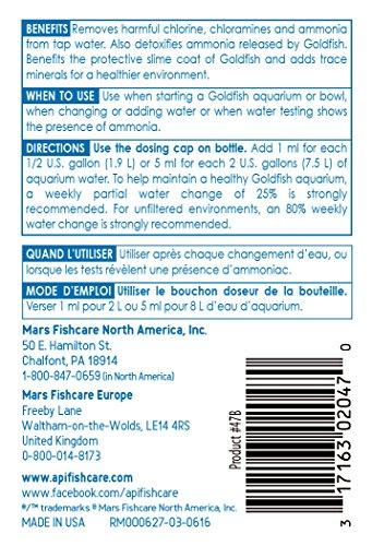 API GOLDFISH PROTECT Aquarium Water Conditioner 118 ml Bottle 2