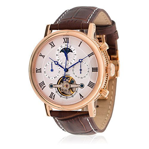 louis-cottier-watch-tradition-automatic-dial-white-stainless-steel-pvd-gold-pink-leather-strap-brown