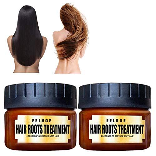 Conditioner in Friseur-Qualität stark pflegend Geschmeidigkeit Glanz toller Duft Haarpflege Spülungen Conditioner Pflegegeheimnisse Reparatur Ritual Haarpflege Spülung 60ML 105g (2 Dose) -