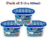 Interior Dehumidifier, 500 ml - Pack of 3