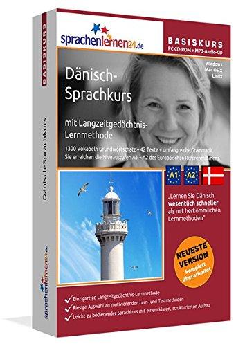 Sprachenlernen24.de Dänisch-Basis-Sprachkurs: PC CD-ROM für Windows/Linux/Mac OS X + MP3-Audio-CD für MP3-Player. Dänisch lernen für Anfänger